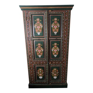 Unique Hand Painted Armoire