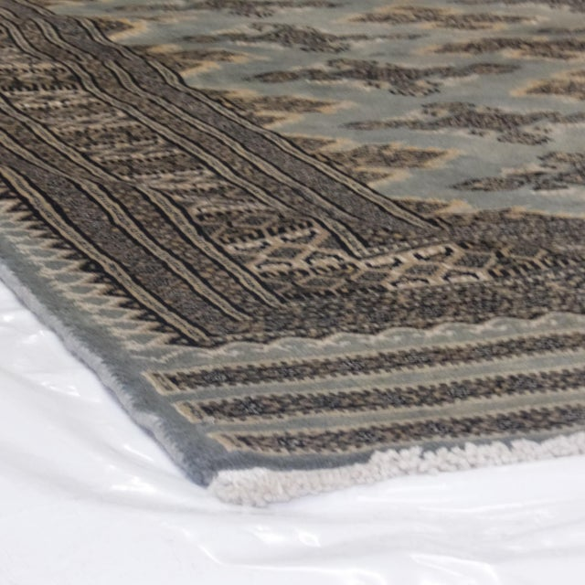 "Leon Banilivi Blue Royal Bokara Rug - 4'1"" X 6' - Image 7 of 7"
