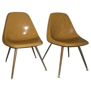 Vintage Borg-Warner Fiberglass Shell Chairs - Pair