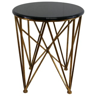 Gilded Metal Mimi Puzzle Table
