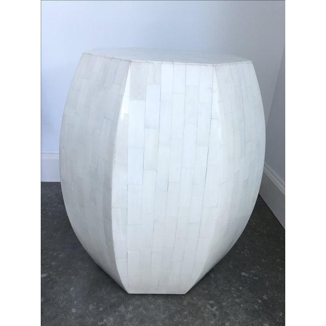 Image of Ironies Bone Drum Side Table
