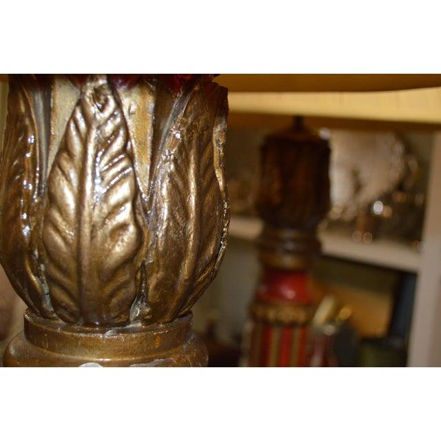 Italian Florentine Standing Lamps - Pair - Image 6 of 7
