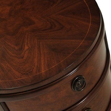 Myrtle Burl Oval Side Table - Image 5 of 6
