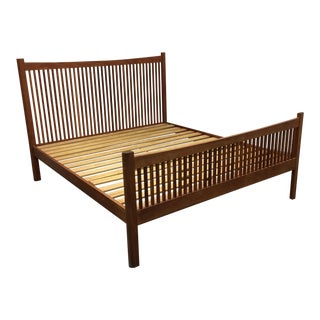 Craftsman Heartwood California King Size Bed