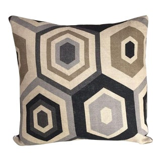 Kim Salmela Hexagonal Print Pillow