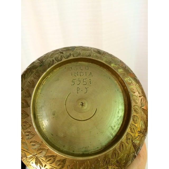Image of Large Brass Vase