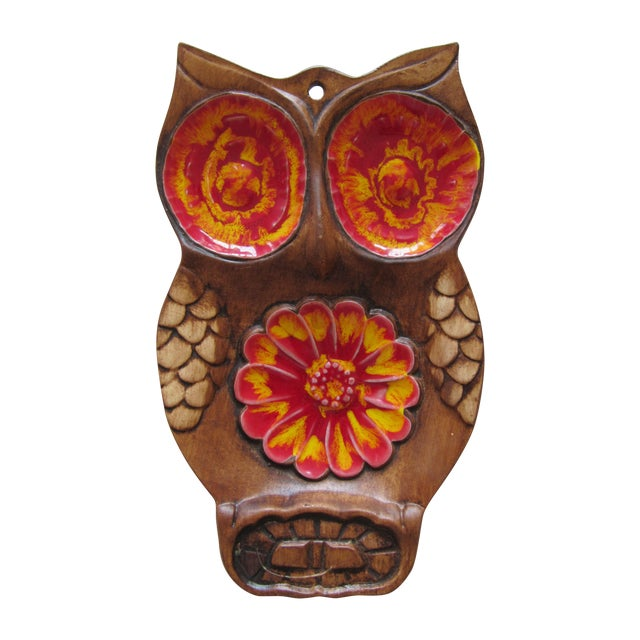 70's Owl Catchall - Image 1 of 5