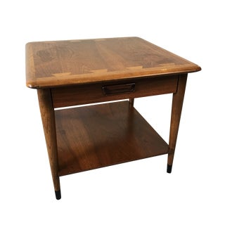 Mid-Century Lane Acclaim Side Table With Storage