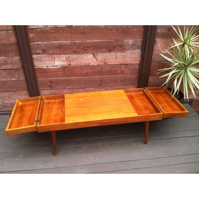 Vintage Rock-Ola Coffee Table / Game Table - Image 3 of 11