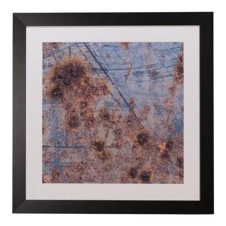 Sarreid Ltd. Rusted Blue Paint Giclee Print