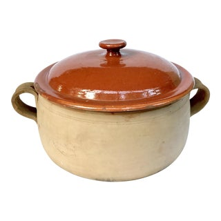 Antique French Terracotta Cookware From Vallauris