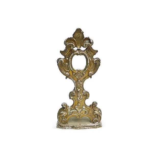 Image of 19th Century Antique Italian Hand-Carved Reliquary