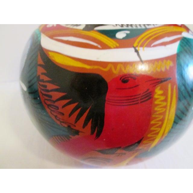 Image of Mexican Artisan Ceramic Water Jug