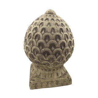 Cement Decor Finial