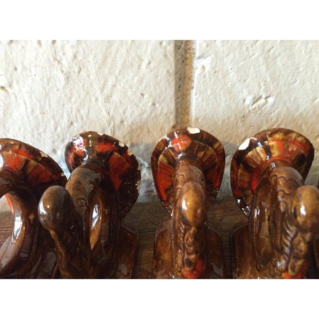 Handmade Thanksgiving Turkey Napkin Rings - S/8 - Image 6 of 10