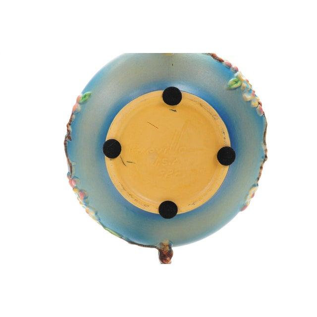 Antique Roseville Pottery Blue Bowl - Image 10 of 10