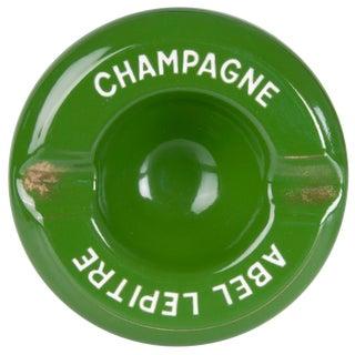 Vintage French Abel Lepitre Champagne Ashtray