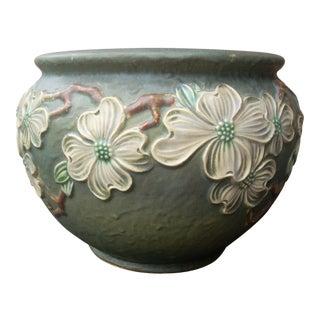 Roseville Dogwood #1 Cachepot Vase