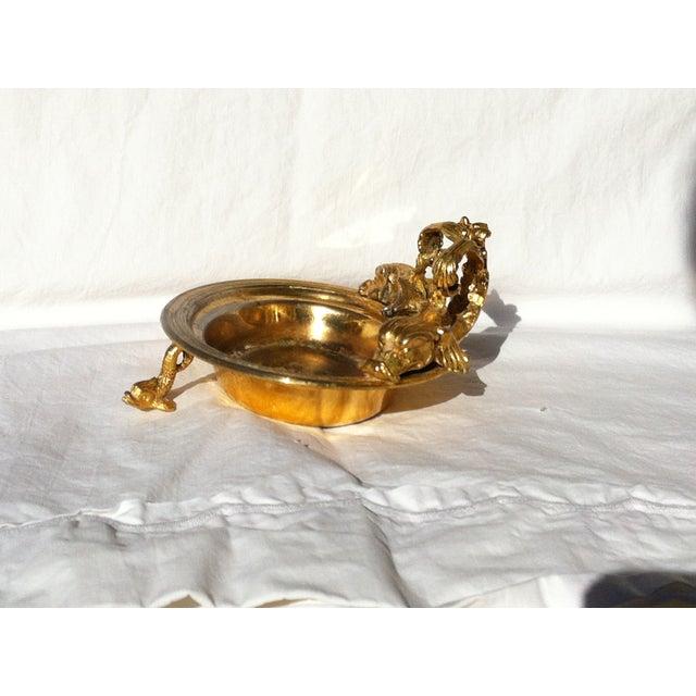 Image of Dragon Head Gold Soap Dish