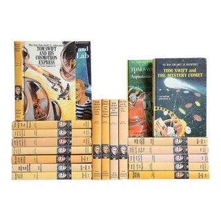 Tom Swift Vintage Children's Book Collection - Set of 20