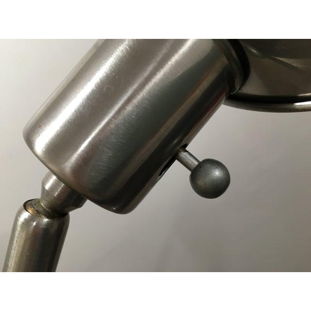 Image of Brushed Silver Adjustable Pharmacy Desk Lamp