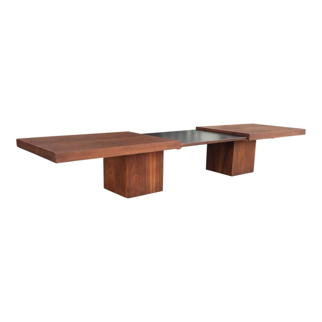 Brown and Saltman Expanding Coffee Table - Image 1 of 10