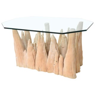 Cypress Knee Table