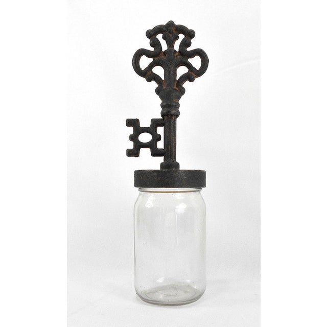Industrial Rustic Finial Glass Bottles - Set of 4 - Image 7 of 7