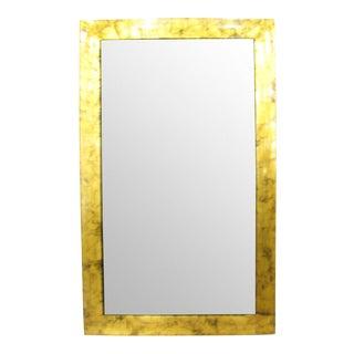 Gold Wood Frame Mirror
