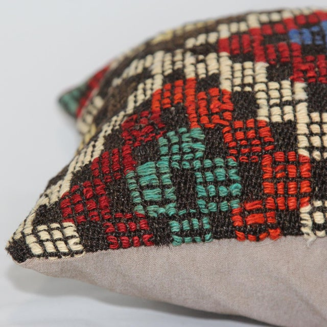 Turkish Handmade Kilim Pillow Cover - Image 6 of 6