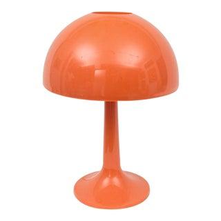 Vintage Mid-Century Orange Desk Lamp