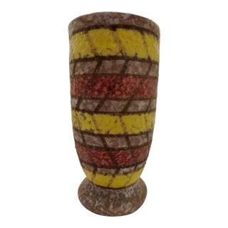 Vintage Italian Mid Century Modern Art Pottery Vase