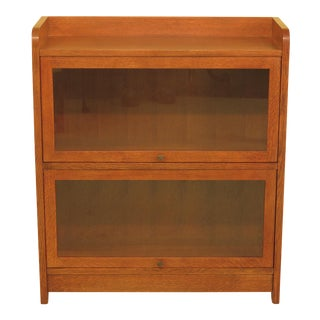 Stickley Mission Oak Barrister Bookcase