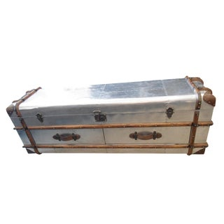 Restoration Hardware Richard's Trunk Low Chest