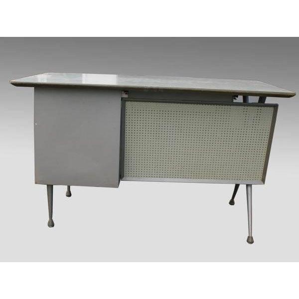 Raymond Loewy Brunswick 4 Drawer Office Desk - Image 5 of 8