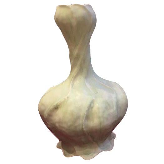Artisan Porcelain Glazed Vase - Image 1 of 2