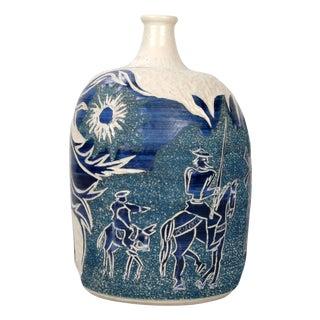Jimena Carballo Art Pottery Decanter