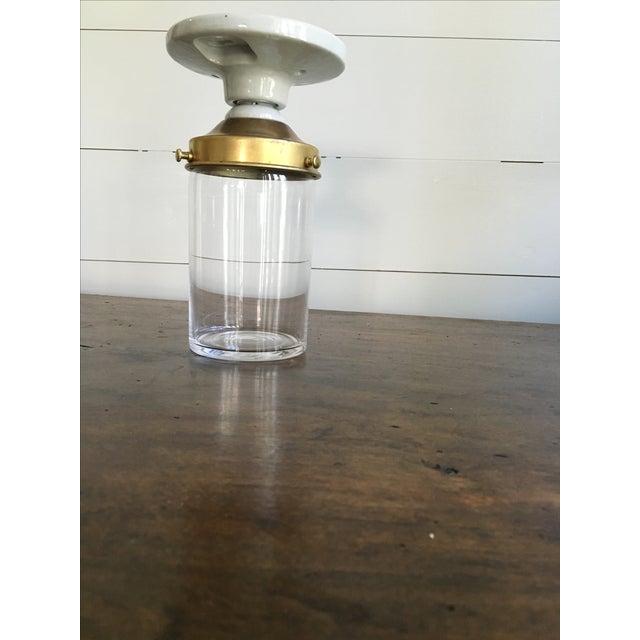 swedish jelly jar light fixture chairish. Black Bedroom Furniture Sets. Home Design Ideas