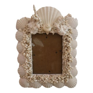 Shell Art Photo Frame