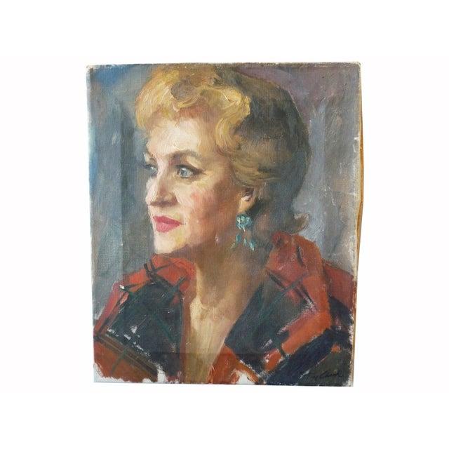 Vintage Portrait of a Woman - Image 1 of 4