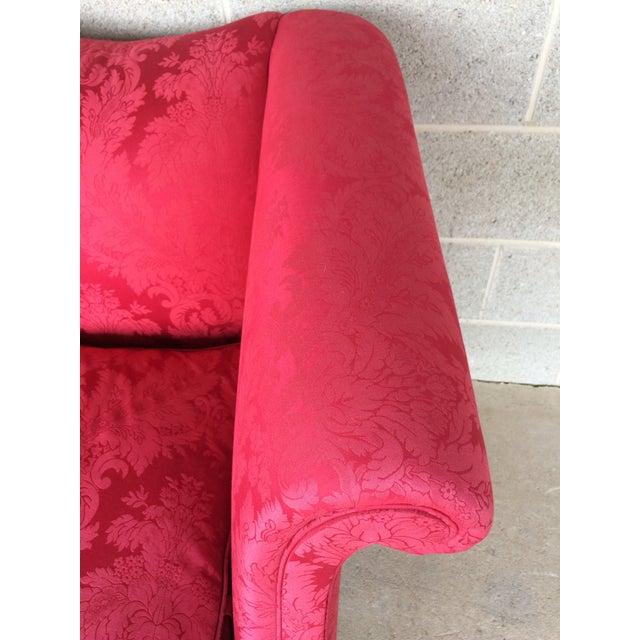 Chippendale Style Camel Back Sofa - Image 6 of 11