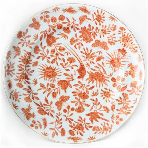 Mottahedeh Bird Butterfly Salad Plates - Set of 5 - Image 6 of 6