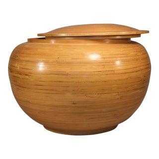 Spun Bamboo Container