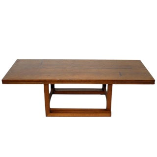 Dunbar Convertible Coffee and Serving Table