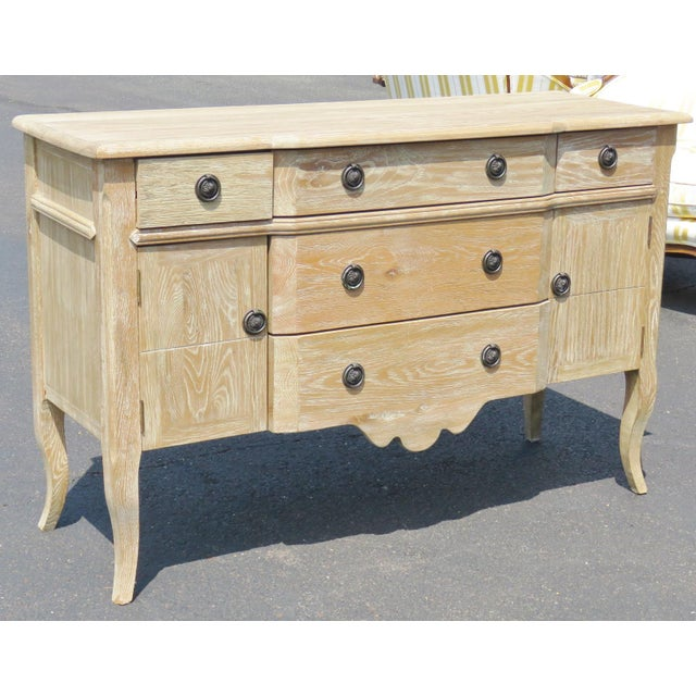 Louis XV Style Blonde Walnut Commode - Image 2 of 6