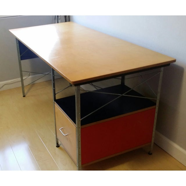 Original Eames Desk Unit From Herman Miller - Image 3 of 8