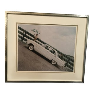 Ford Falcon Vintage Photograph by John Rawlings