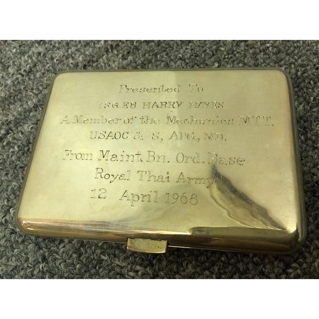 Siamese Sterling Cigarette Case - Image 5 of 6