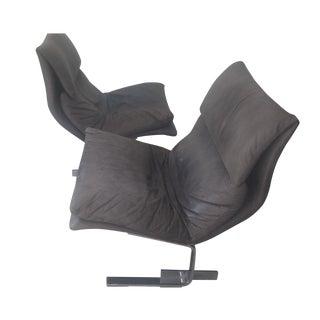 "Saporiti ""Onda (Wave) Lounge Chairs"" - Pair"
