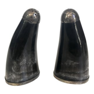 Silver Plate Salt & Pepper Shakers